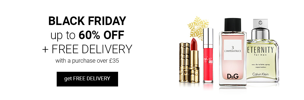 Join the Black Friday shopping spree with discounts up to 60% and free delivery!