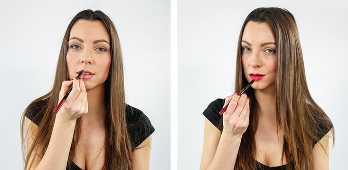Contouring lips
