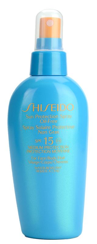 shiseido sun spray