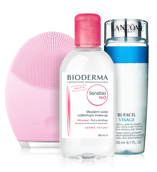 Skin cleansing and makeup removal products