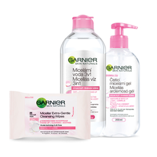 Garnier Makeup removal and cleansing