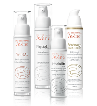 Wrinkles and ageing Avène