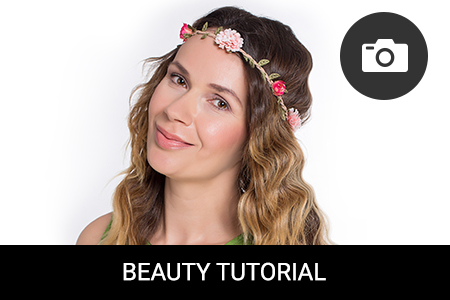 TUTORIAL: Boho-chic hairstyle