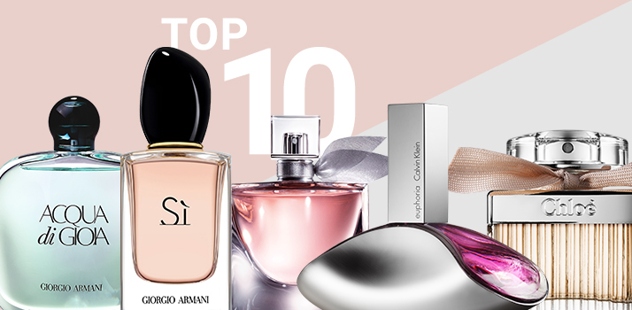 top 10 fragrances