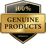 Only 100% genuine products.